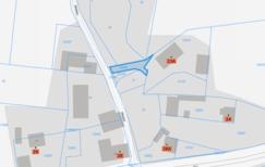 działka 229/60 - mapa